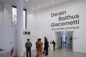 Expo Derain Balthus Giacometti