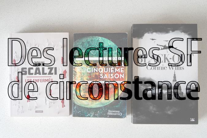 Bannière des lectures SF de circonstance